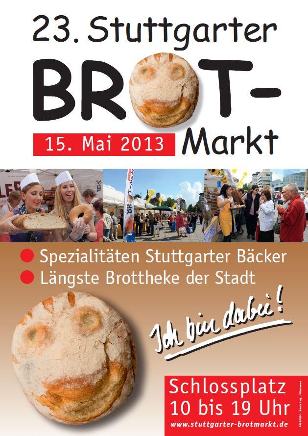 Brotmarkt Plakat