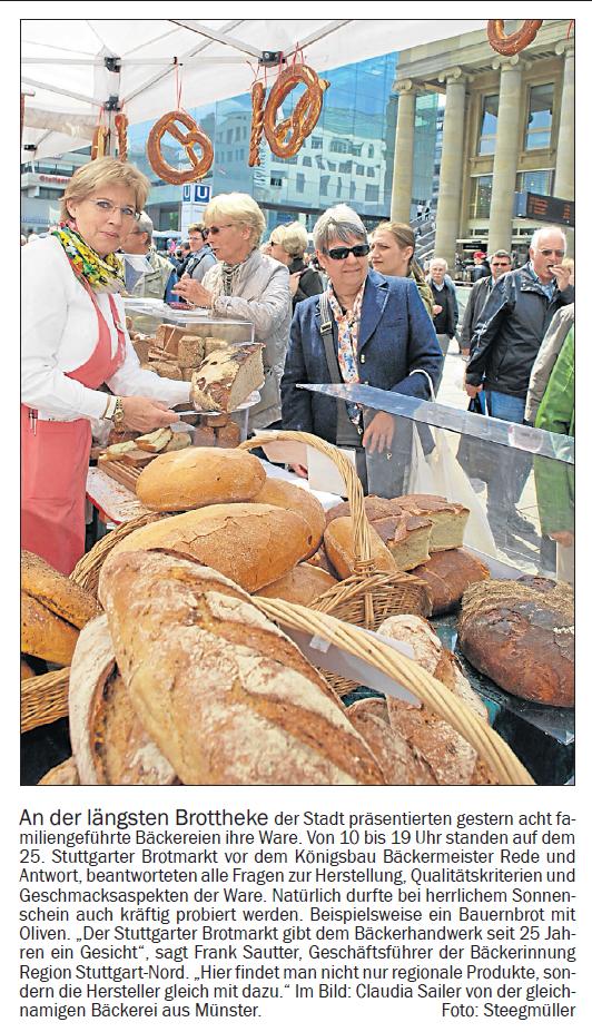Stuttgarter Brotmarkt 2015
