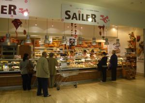 Standorte | Bäckerei Konditorei Sailer