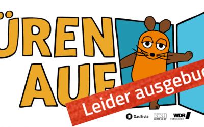 Maus Türöffnertag 2018 – AUSGEBUCHT